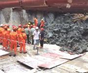 深圳地铁施工区坍塌 系一个月内发生的第二起伤亡事故