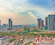"""前海自贸区实现121栋建筑封顶 自贸新城""""天际线""""初"""