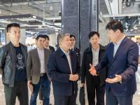 深圳市市场和质量监管委党组成员夏昆山同志带队走访